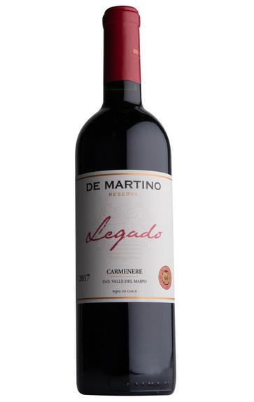 2017 De Martino, Legado, Carménère, Maipo Valley, Chile