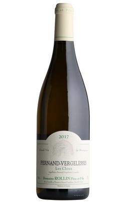 2017 Pernand-Vergelesses Blanc, Les Cloux, Domaine Rollin, Burgundy