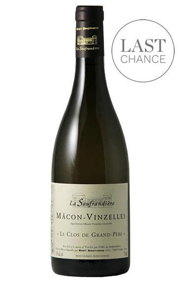 2017 Mâcon-Vinzelles, Clos de Grand-Père, Domaine de la Soufrandière, Bret Bros, Burgundy