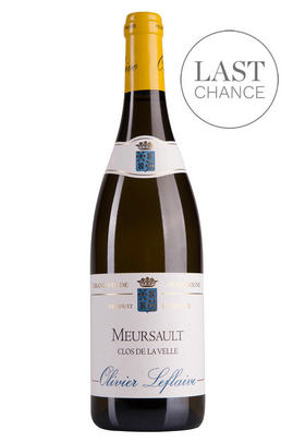 2017 Meursault, Clos de la Velle, Olivier Leflaive, Burgundy