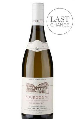 2017 Bourgogne Chardonnay, Domaine Henri Prudhon, Burgundy