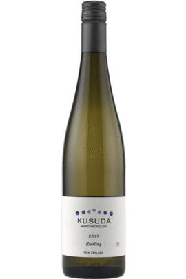2017 Kusuda Wines Riesling, Martinborough, New Zealand