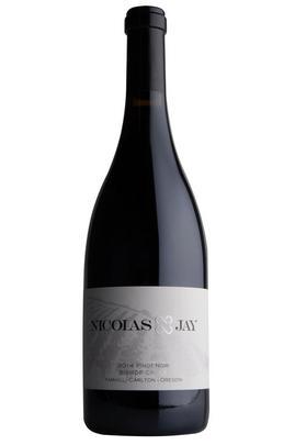2017 Nicolas-Jay, Bishop Creek Pinot Noir, Yamhill-Carlton, Oregon, USA