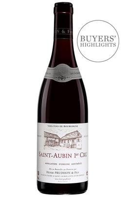 2017 St Aubin Rouge, Les Rouges-Gorges, 1er Cru, Domaine Henri Prudhon, Burgundy