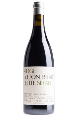 2017 Ridge Vineyards, Lytton Estate Petite Sirah, Dry Creek Valley, Sonoma Valley, California, USA