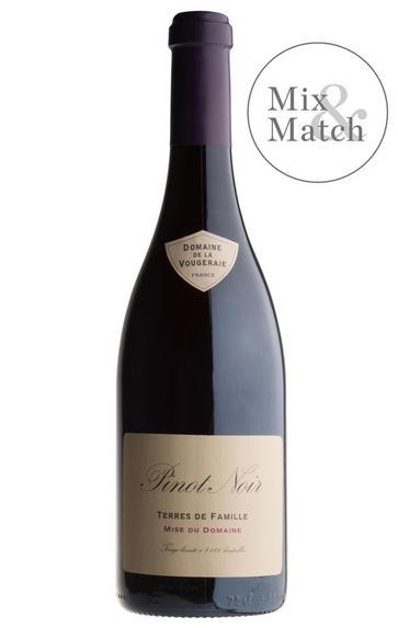 2017 Bourgogne Rouge, Terres de Famille, Domaine de la Vougeraie, Burgundy