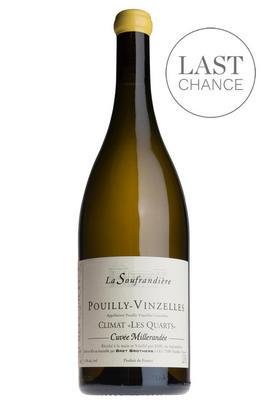 2017 Pouilly-Vinzelles, Climat Les Quarts, Cuvée Millerandée, La Soufrandière, Bret Brothers, Burgundy