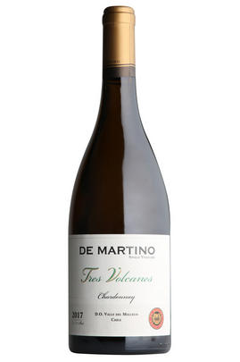 2017 De Martino, Tres Volcanes Chardonnay,  Malleco Valley, Chile