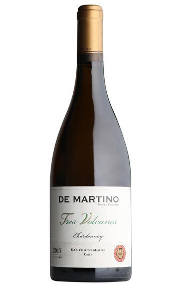 2017 De Martino, Tres Volcanes Chardonnay,  Malleco Valley, Chile