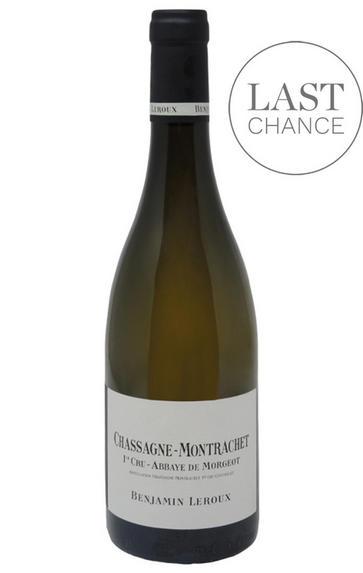 2017 Chassagne-Montrachet, Abbaye de Morgeot, 1er Cru, Benjamin Leroux