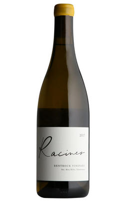 2017 Racines Wines, Bentrock Chardonnay, Santa Rita Hills, California, USA