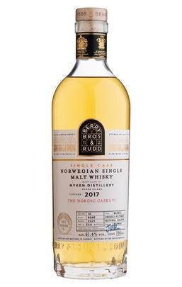 2017 Berry Bros. & Rudd Myken, Cask No. 15, Whisky, Norway (61.4%)
