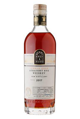 2017 Berry Bros. & Rudd Few Rye, Cask No. 1718, Illinois Bourbon Whiskey, USA (57.6%)