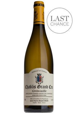 2018 Chablis, Grenouille, Grand Cru, Jean-Paul & Benoît Droin, Burgundy