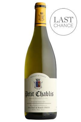 2018 Petit Chablis, Jean-Paul & Benoît Droin, Burgundy