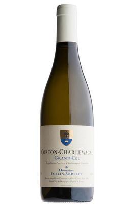 2018 Corton-Charlemagne, Grand Cru, Domaine Follin-Arbelet, Burgundy