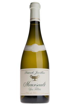 2018 Meursault, Les Tillets, Domaine Patrick Javillier, Burgundy