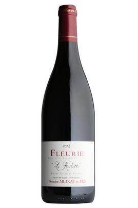 2018 Fleurie, La Roilette, Vieilles Vignes, Domaine Bernard Métrat, Beaujolais, Burgundy