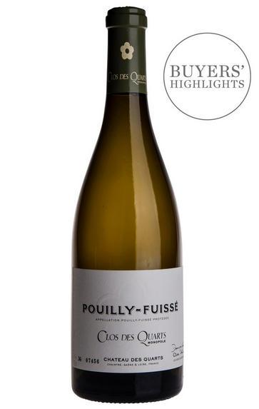2018 Pouilly-Fuissé, Clos des Quarts, Château des Quarts, Burgundy