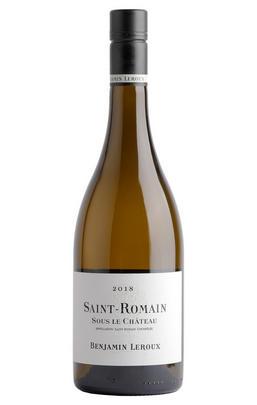 2018 St Romain Blanc, Sous le Château, Benjamin Leroux, Burgundy