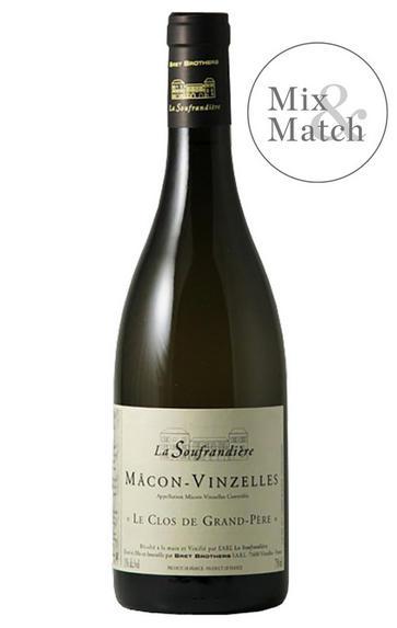 2018 Mâcon-Vinzelles, Clos de Grand-Père, Domaine de la Soufrandière, Bret Bros, Burgundy