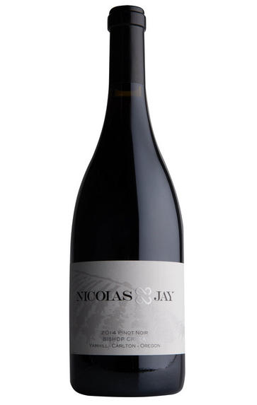 2018 Nicolas-Jay, Bishop Creek, Pinot Noir, Yamhill-Carlton, Oregon, USA