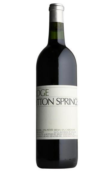 2018 Ridge Vineyards, Lytton Springs, Dry Creek Valley, Sonoma County, California, USA