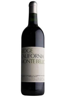 2018 Ridge Vineyards, Monte Bello, Santa Cruz Mountains, California, USA