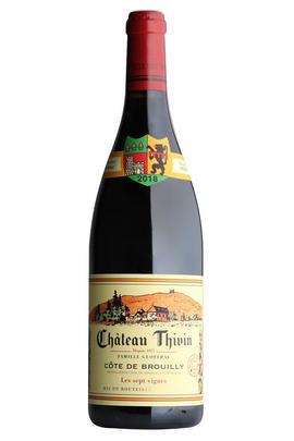 2018 Côte de Brouilly, Les Sept Vignes, Château Thivin, Beaujolais