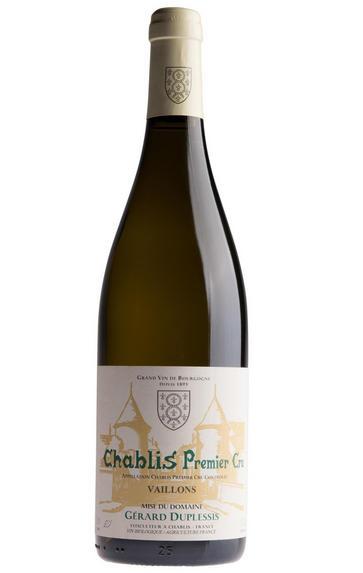 2018 Chablis, Vaillons, 1er Cru, Domaine Gérard Duplessis, Burgundy
