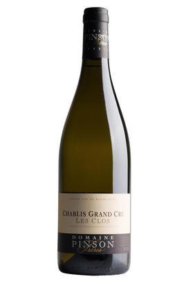2018 Chablis, Les Clos, Grand Cru, Domaine Pinson, Burgundy