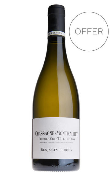 2018 Chassagne-Montrachet, Tête du Clos, 1er Cru, Benjamin Leroux, Burgundy