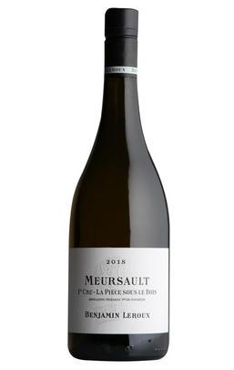 2018 Meursault, La Pièce Sous le Bois, 1er Cru, Benjamin Leroux, Burgundy
