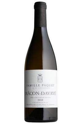 2018 Mâcon-Davayé, Famille Paquet, Burgundy