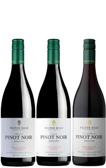 2018 Felton Road, Pinot Noir (Bannockburn, Calvert, Block 5), Three-magnum Assortment Case
