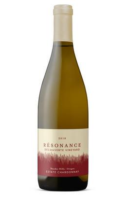 2018 Résonance, Découverte Vineyard Chardonnay, Dundee Hills, Oregon, USA