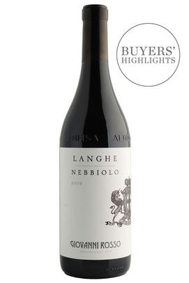 2019 Langhe Nebbiolo, Giovanni Rosso, Piedmont, Italy