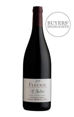 2019 Fleurie, La Roilette, Vieilles Vignes, Domaine Bernard Métrat, Beaujolais