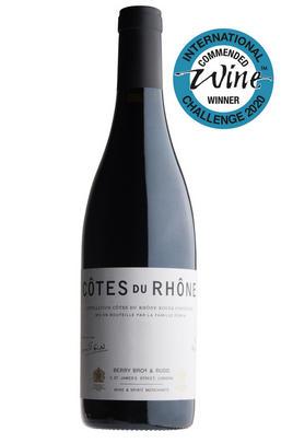 2019 Berry Bros.& Rudd Côtes du Rhône Rouge by Rémi Pouizin