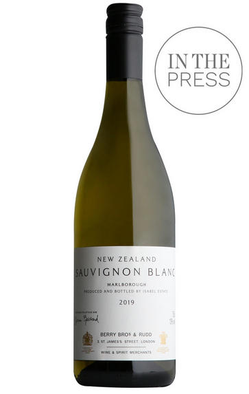 2019 Berry Bros. & Rudd New Zealand Sauvignon Blanc by Isabel Estate
