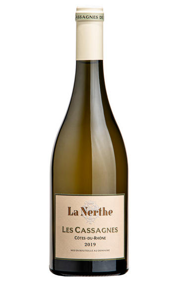 2019 Côtes du Rhône Villages, Les Cassagnes Blanc, Château La Nerthe