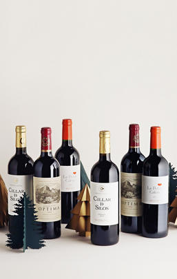 Classic Collection: Red, Six-Bottle Case