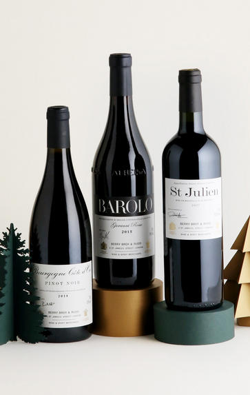 Christmas Favourites: Red, Three-Bottle Case