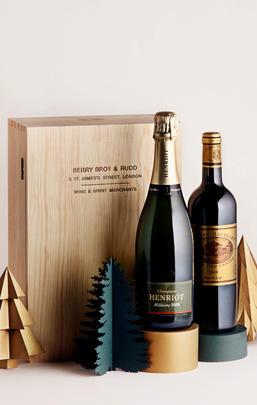 Luxury Champagne & Bordeaux, Two-Bottle Case