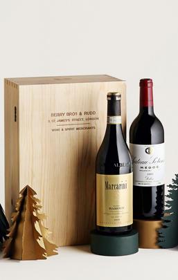 Luxury Barolo & Bordeaux, Two-Bottle Case