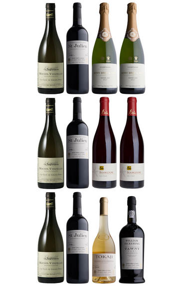 Classic Dinner Party Collection, 12-Bottle Case