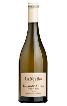 2020 Côtes du Rhône Villages, Les Cassagnes Blanc, Château La Nerthe