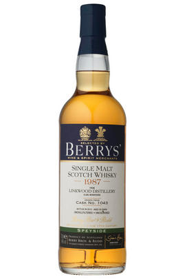 1987 Berrys' Own Selection Linkwood, Speyside, Single Malt Whisky, 46.0%