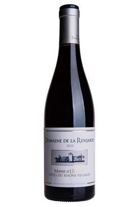 2011 Côtes du Rhône Villages, Massif d'Uchaux, Domaine de la Renjarde