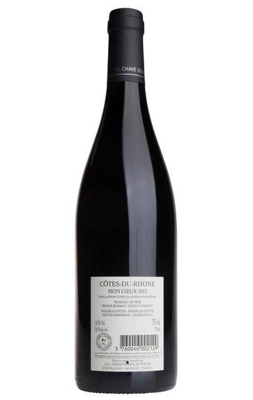2012 Côtes du Rhône, Mon Coeur, Jean-Louis Chave Sélection